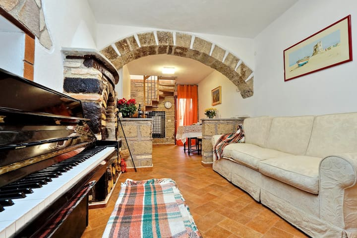 Bright Independent Country Home in Medieval Borgo - Mazzano Romano - Wohnung