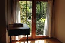 Luminous apartment in a villa