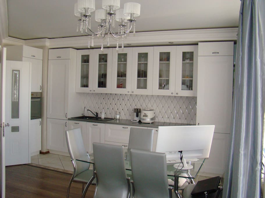 Kitchen and Dining Area fully equipped with everything necessary