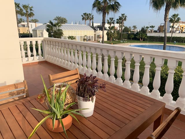 Ideal NATURIST ❤️ Big Terrace & 2 Swimming Pools