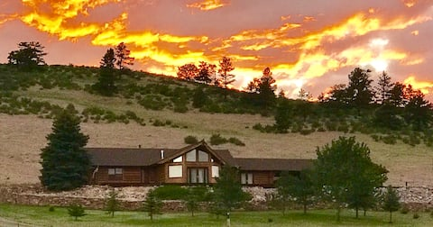 Mountainside Retreat in Loveland Colorado.