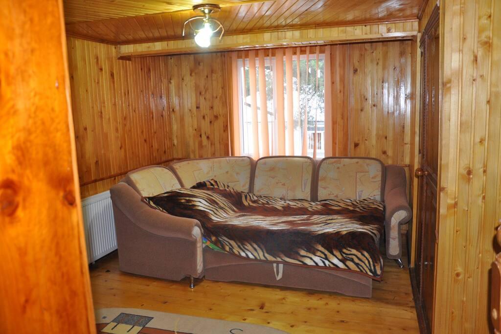 раскладной большой диван кровать
