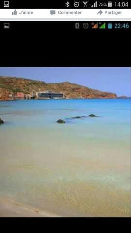 Logement bord de mer, pieds dans l'eau... - Aïn El Turk - Loft