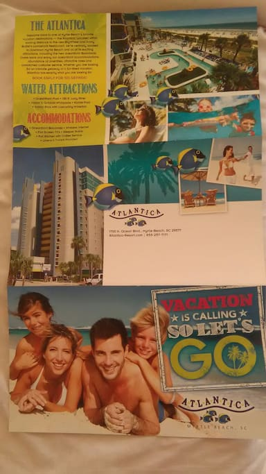 "Brochure of my  ""Atlantica Resort"""