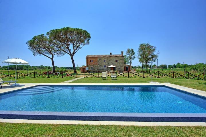 Villa dei Vini - Landhaus in Cortona, Toskana.