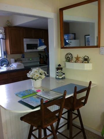 View from Dining Area into Kitchen