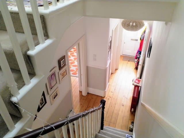 Luxury double room en-suite, Victorian family home