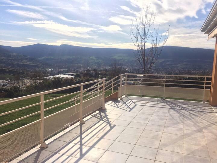 Villa moderne de 160 m² avec vue sur le Viaduc