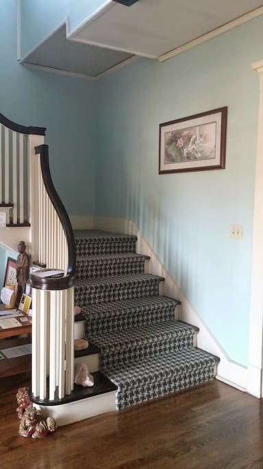 Foyer Stairs to your room