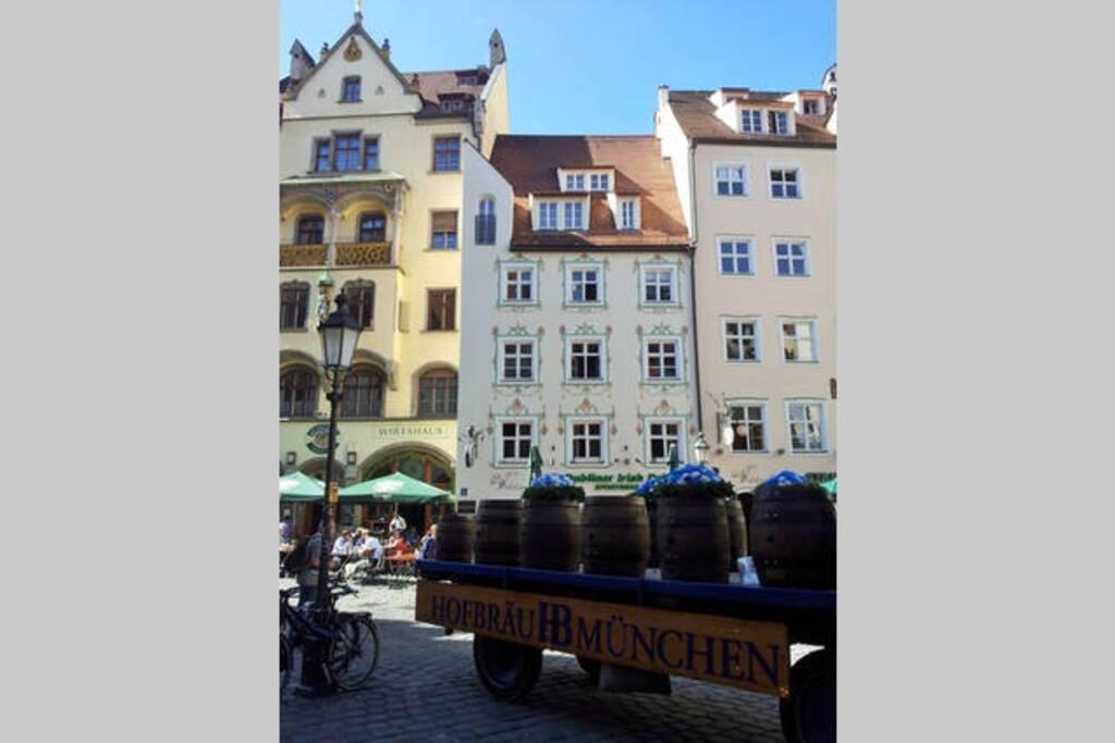 Beautiful downtown Munich.