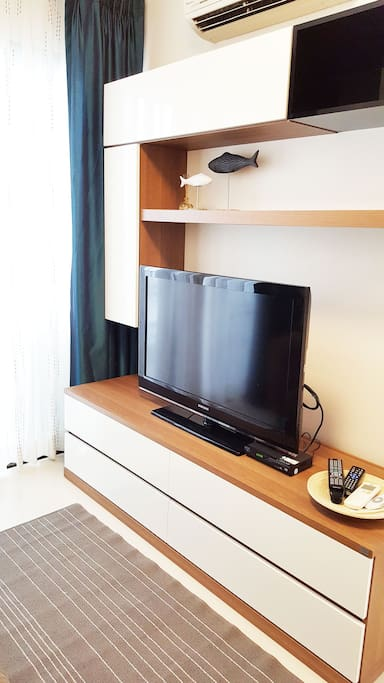 Extra big television