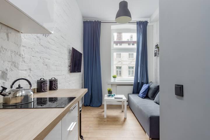 STUDIO 22 - przytulny apartament w centrum