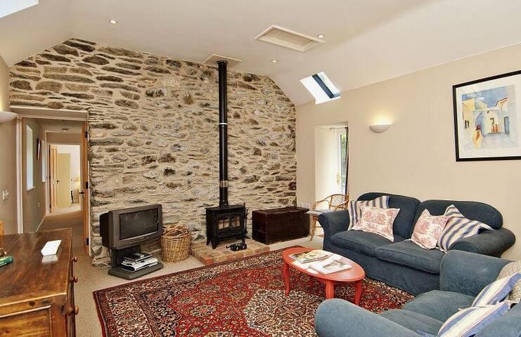 Cefn Coch Barn in the Welsh Hills - Machynlleth