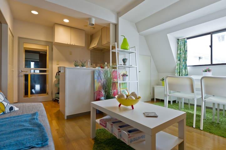 Cozy 1bedroom near Shibuya and Shinjuku - Shibuya-ku