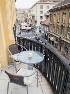 Main Square 2min walk,parking,115m2 - Загреб - Квартира