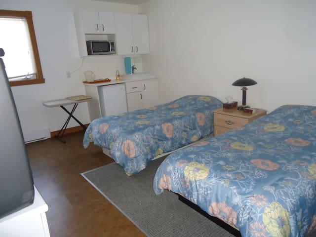 Chambre 2, avec salle de bain privée