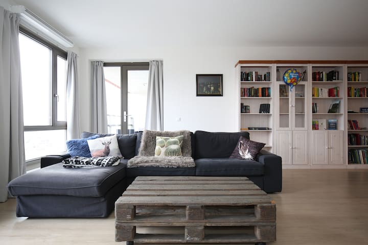 Spacious 1 bedroom apartment close to Amsterdam - Zaandam - Apartament