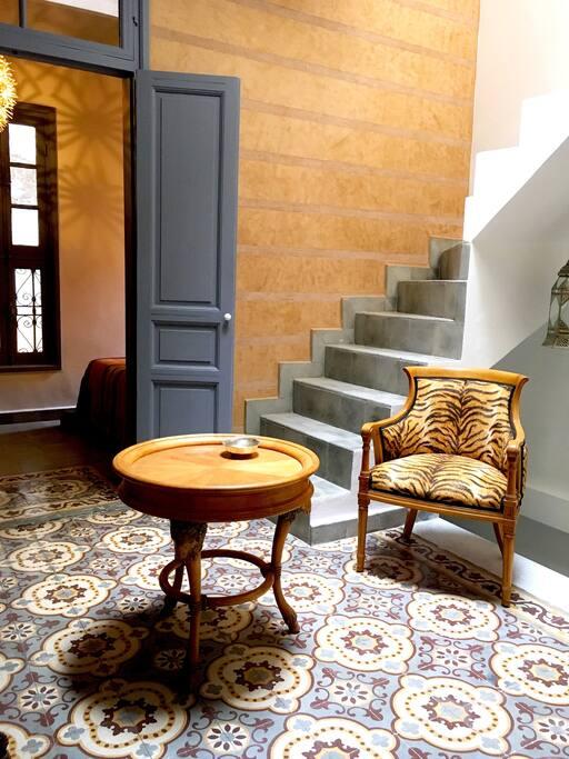 Le salon du premier étage