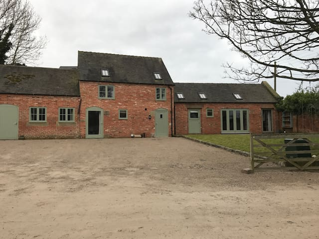 Stunning Derbyshire barn conversion - Burnaston - Huis