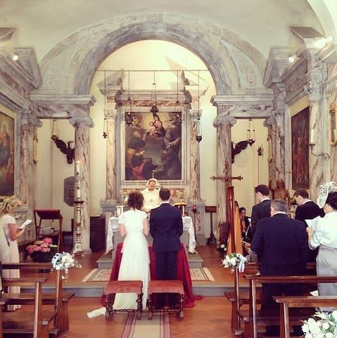 Catholic wedding in the church