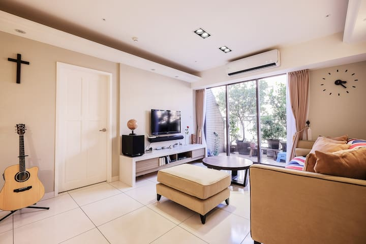 Taipei,Linkou-C 三井OUTLET/ 頂級空中露臺花園房/ 近機場捷運 - 新北市 - Lägenhet