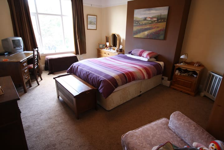 Double room in Edwardian house - Wolverhampton - Hus