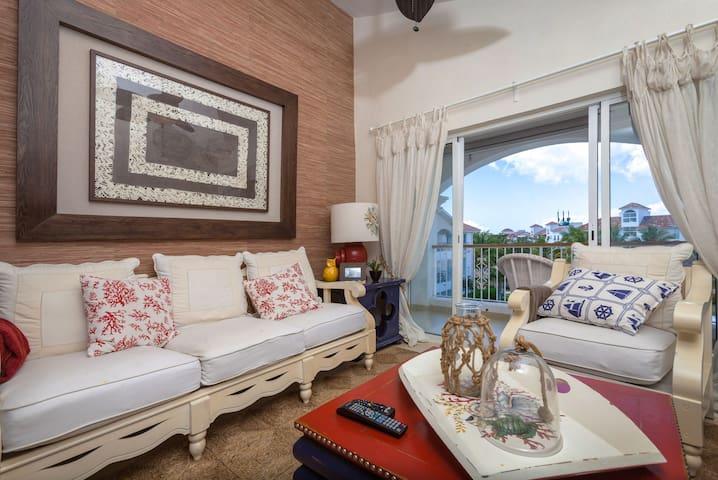 Discount 2 BR in Bayahibe, Cadaques - La Romana  - Lägenhet