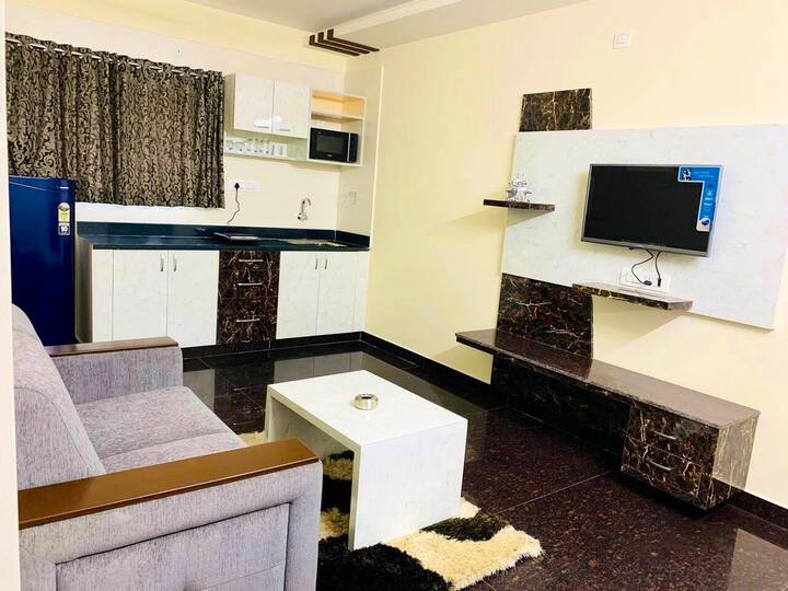 🌻J K PARKVIEW 7 KORAMANAGALA 1BHK COUPLE FRIENDLY