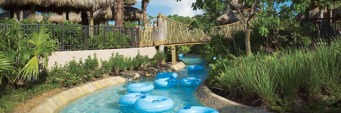 2 Bedroom 2 Bath Luxury Resort-Lazy River-More