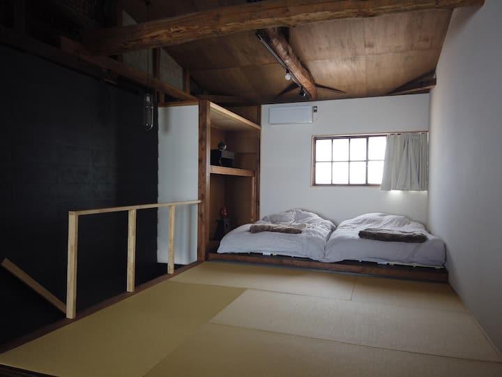 【1日1組限定 最大6名様】一棟貸切なので三密回避をしながら旅行を楽しめる 古民家宿shitsu