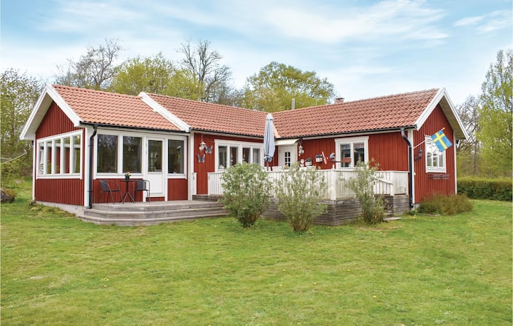 Nice home in Listerby with Internet and 2 Bedrooms