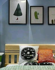 交通便利的同居公寓,靠近世界500强企业家乐福,麦当劳! - Qinhuangdao - アパート
