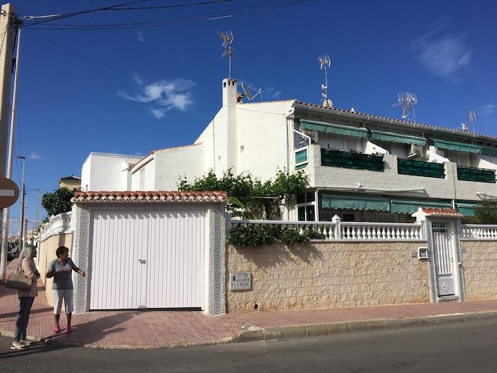 Charming house, Spanish tile Patio, Playa Locos