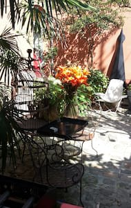 Charming and roomy loft (70m²) in private garden - Malakoff - Loft