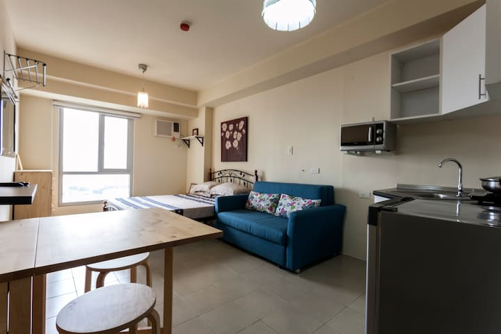 Studio Unit in Makati, New and  accommodates more