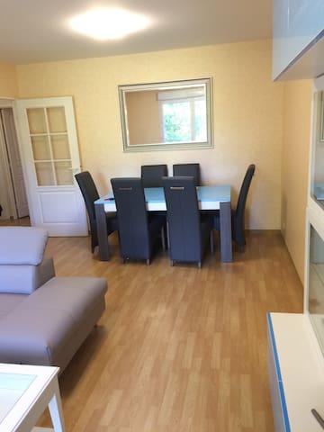 Bel appartement avec agréable vue ! - Tours - Apartment