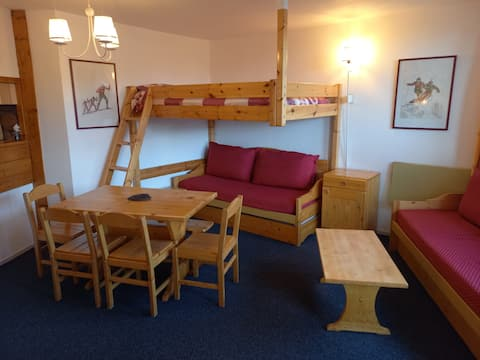 Avoriaz ,centre,  les fontaines blanches 6/7 pers