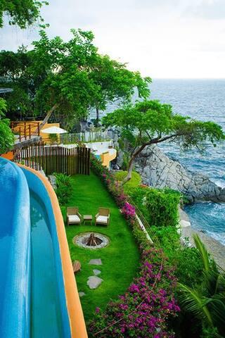 AMAZING OCEANFRONT LUXURY VILLA MANDARINA 6BD - Puerto Vallarta - Casa de campo