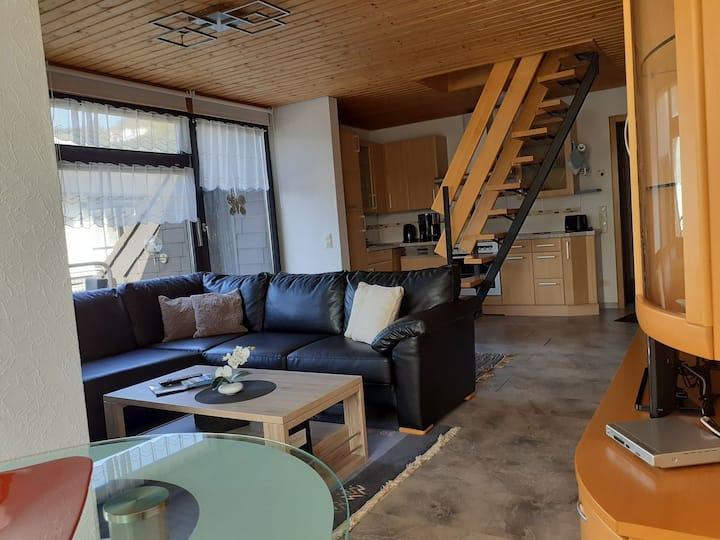 Ferienwohnung JuLe (Winterberg/ Hildfeld) -, Ferienwohnung JuLe (60 qm) mit 2 Schlafzimmer und Balkon