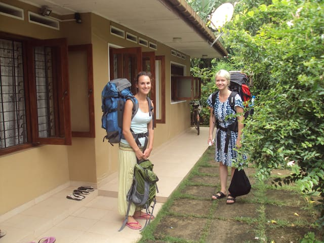 Shirley's home stay