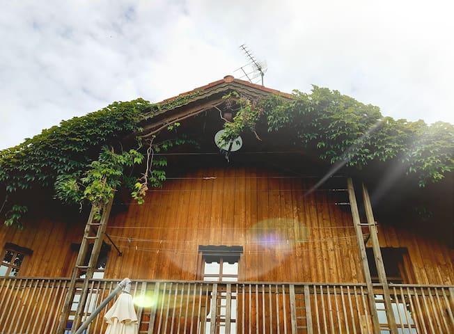 Idyllisches Einfamilienhaus mit Aussicht