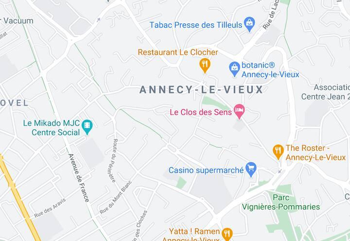 Studio Annecy le vieux 25m2,  + informations en MP