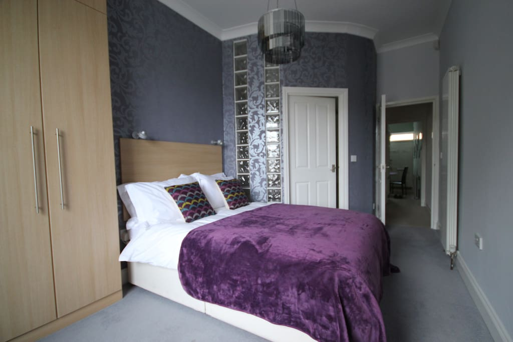 Double room, with ensuite power shower room