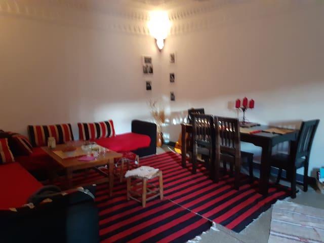 maison traditionnelle calme au cœur de Ouarzazate