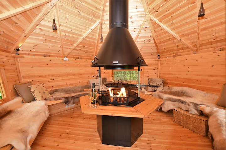 BBQ lodge which is available to use exclusively anytime during your stay