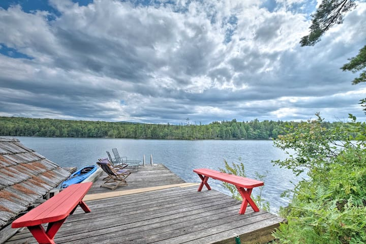 Raquette Lake Island Cabins w/Dock, Kayak+Fire Pit