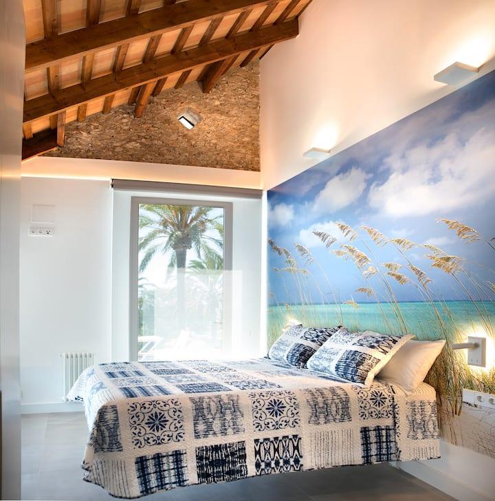 Villa San Rafael - Suite with sea views & terrace