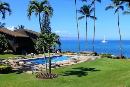 Ocean View - Mahina Surf 105 (One Bedroom One Bath Oceanfront) - Napili-Honokowai - Apartment