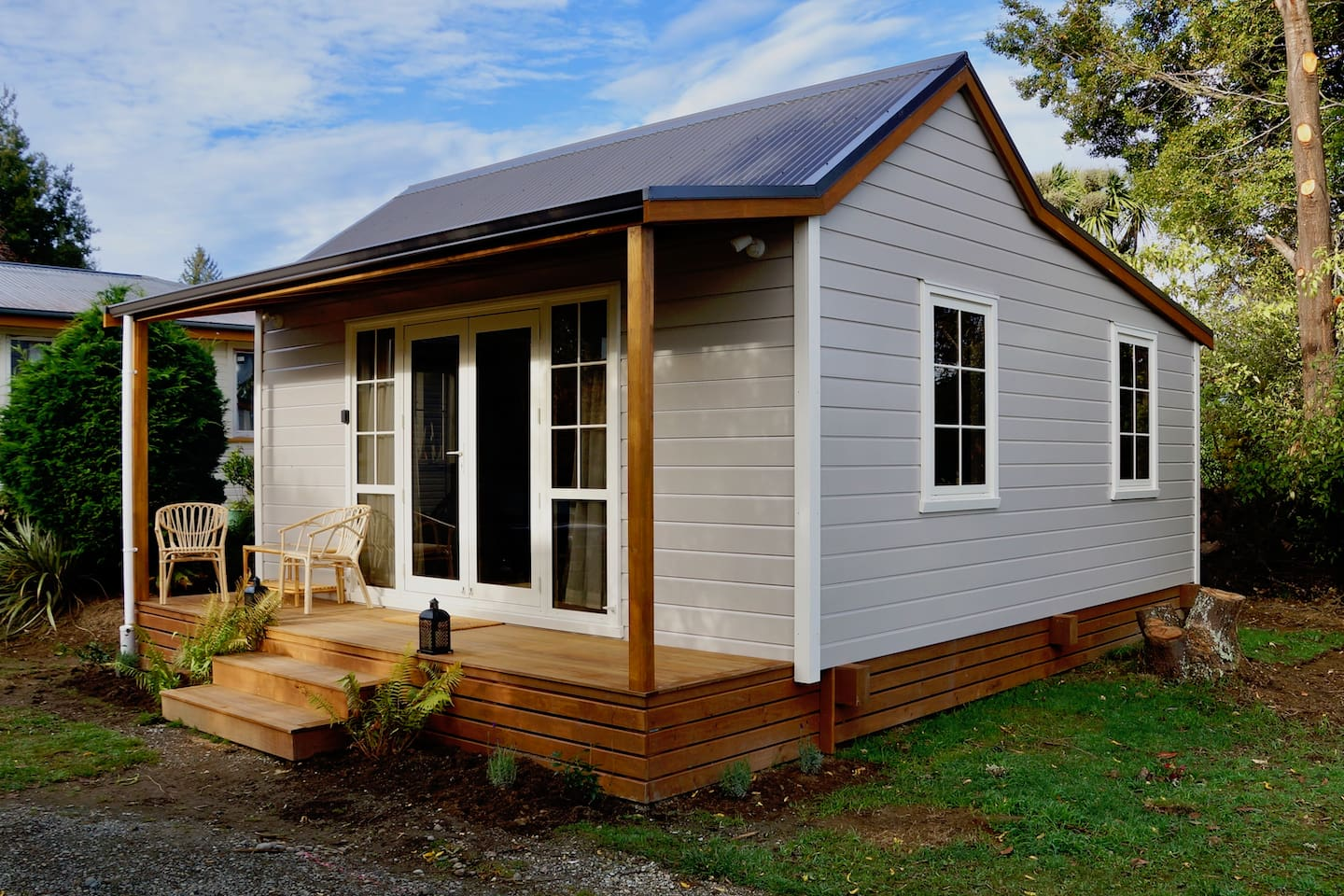 New built cottage, celebrating traditional cottage styling - yet with all the modern conveniences.