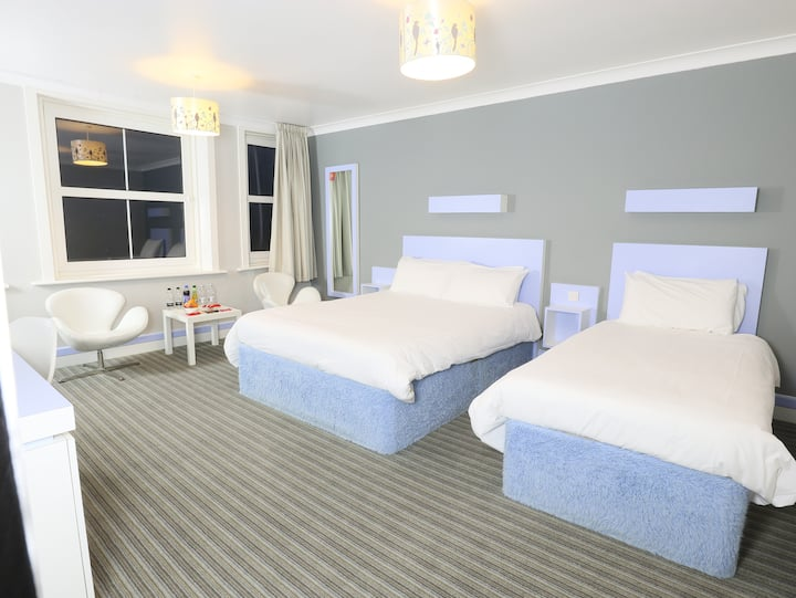 Seafront Escape - Double + Single bed room